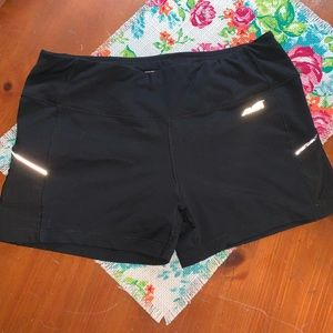 Avia black running shorts